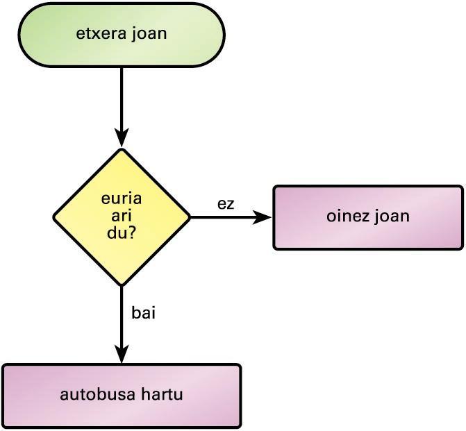 Fluxu-diagrama baten adibidea