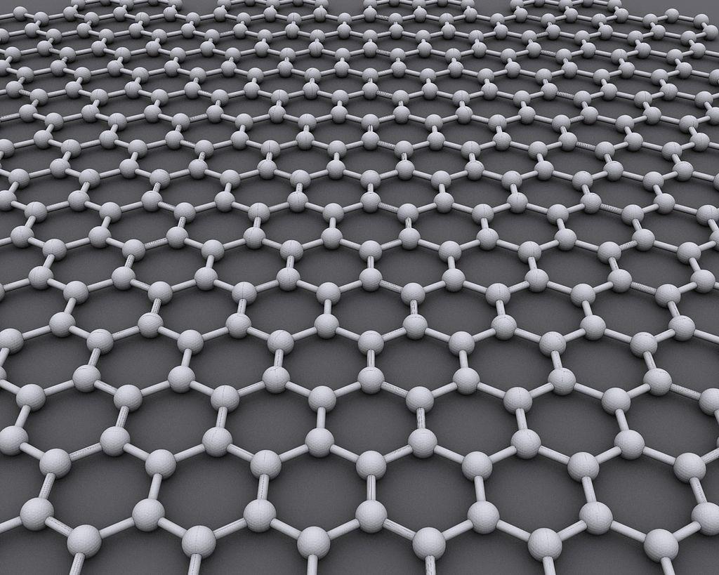 Grafenoaren egitura molekularra